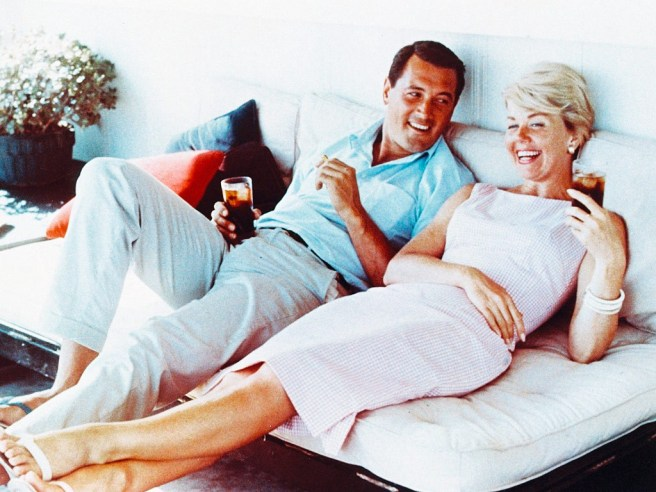 Rock Hudson and Doris Day In Pillow Talk Courtesy of UniversalPictures.com