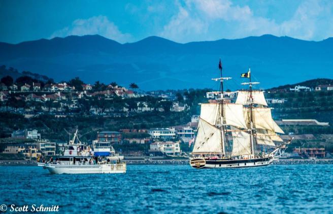 Dana Point Tall Ships by Scott Schmitt Courtesy of Ocean-Institute.org