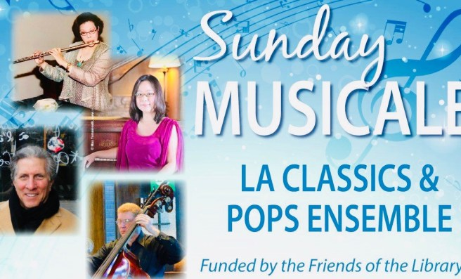 Newport Beach Public Library Musicale Sunday September 22 2019