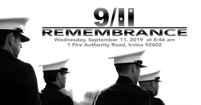 Orange County Fire Authority (OCFA) 9:11 Remembrance 2019