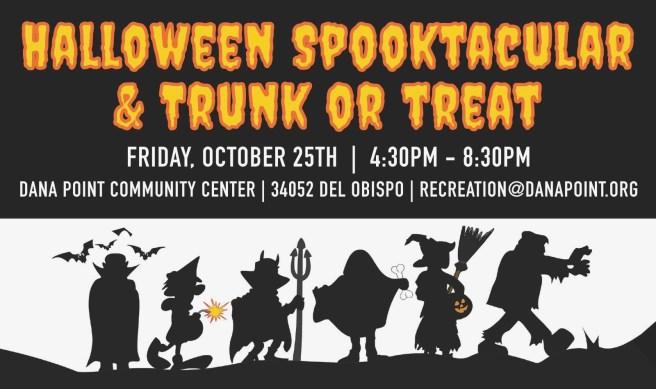Dana Point Halloween Spooktacular & Truck or Treat Friday October 25 2019