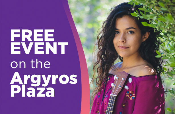Orange County Segerstrom Argyro Plaza Presents Kelly Caballero October 2019