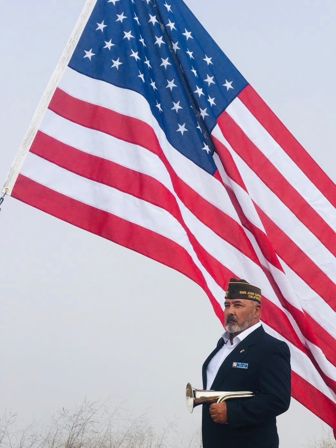 Veterans Day Ceremoy Courtesy of VFW Post 3801
