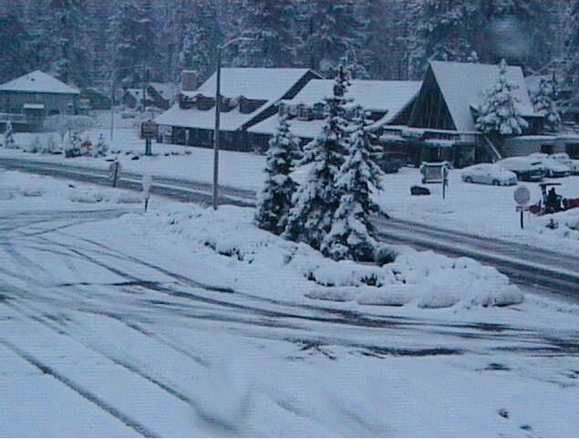 Wrightwood California Snow Day Monday December 23 2019 Courtesy of Mountain Hardware and NWS San Diego