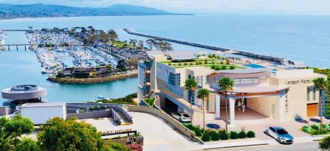 Lantern Point Hotel Courtesy of YNG Architects & The City of Dana Point