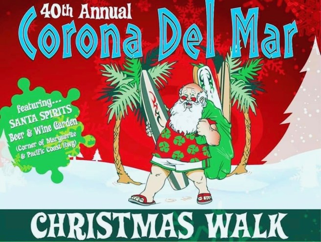 Corona del Mar Christmas Walk Sunday December 8 2019