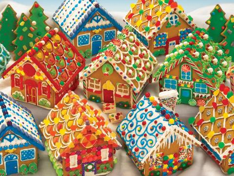 Gingerbread Houses Courtesy of Public Library