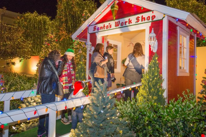 Mission Viejo Santa Time Courteys of The City of Mission Viejo