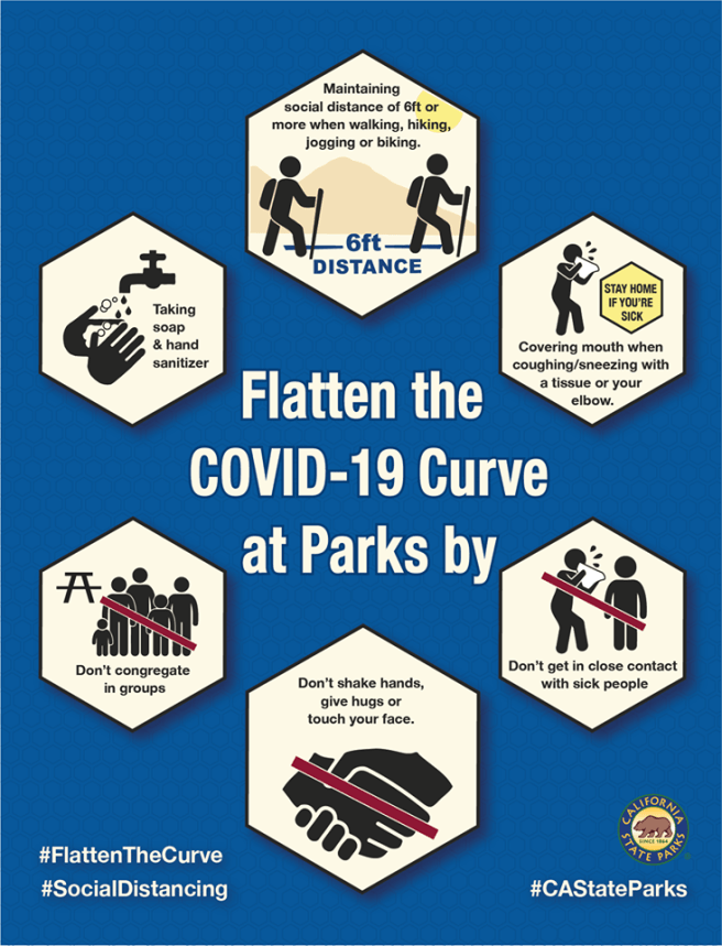 California State Parks Flatten the COVID-19 Curve at Parks PSA