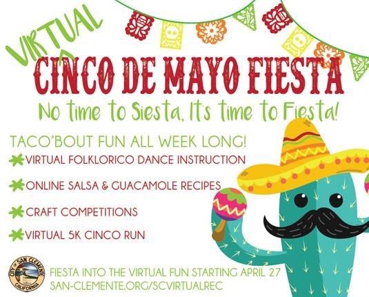 San Clemente Virtual Cinco de Mayo Fiesta 2020