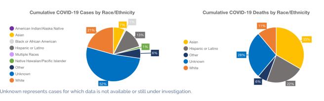 Orange County COVID-19 By Race & Ethnicity April 11 2020