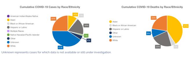 Orange County COVID-19 By Race & Ethnicity April 15 2020