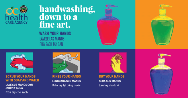 Orange County Health Wash Your Hands (COVID-19) PSA
