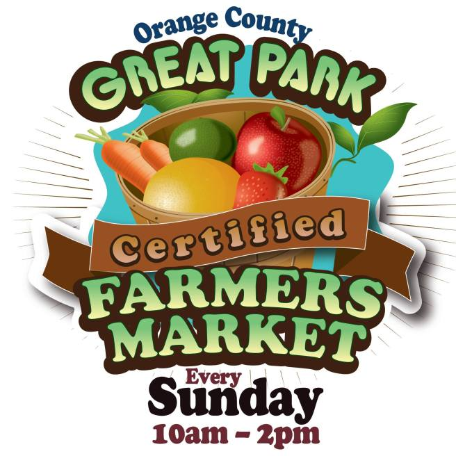 Orange County Great Park in Irvine California Drive Through Farmers Market Sunday's 2020