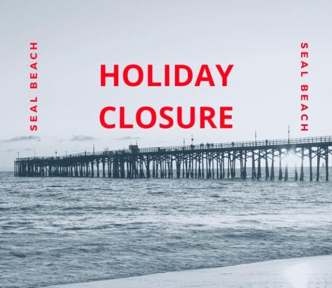Seal Beach California Beach Closures July 4 2020 Courtesy of Seal Beach Police Department Facebook Page