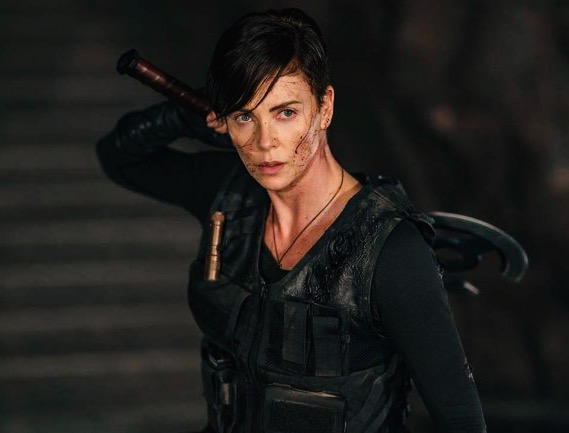 "Charlize Theron in ""The Old Guard"" Courtesy of Netflix"