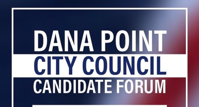 Dana Point City Council Candidate Forum Wednesday September 30 2020