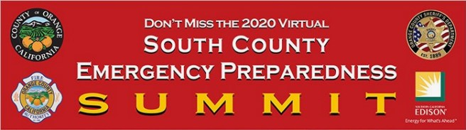 South Orange County 2020 Emergency Summit October 2020