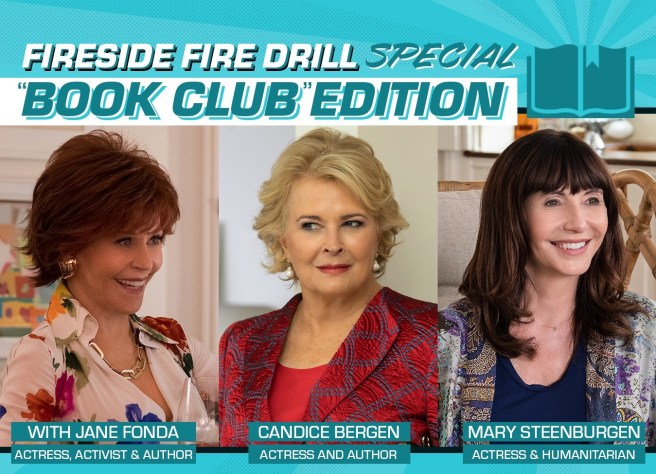 Jane Fonda's Fire Drill Friday Book Club September 4 2020