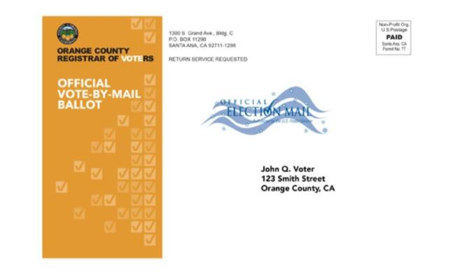 Orange County Register Of Voters Mails Ballots October 5 2020