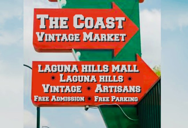 The Coast Vintage Market at Laguna Hills Mall Sunday October 11 2020