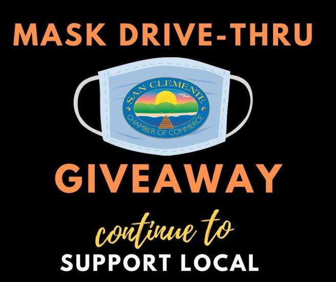 San Clemente Chamber Masks N Treats Drive Thru Thursday October 22 2020