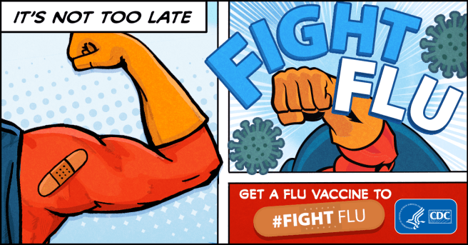 Flu Shot PSA Courtesy of CDC