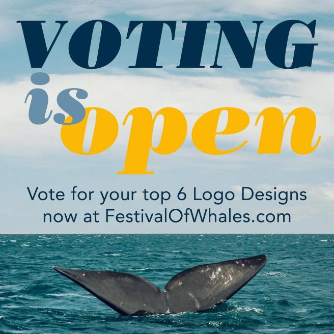 Dana Point Festival of Whales Vote Your Favorite Logo Final Day Tuesday January 19 2021