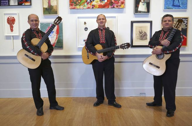 Triada Guitar Trio At Laguna Beach Live Courtesy of Laguna Art Museum