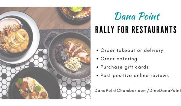 #DanaPoint #RallyForRestaurants 2021