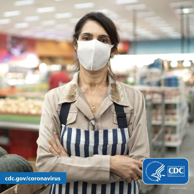 COVID PSA Courtesy of The CDC.gov