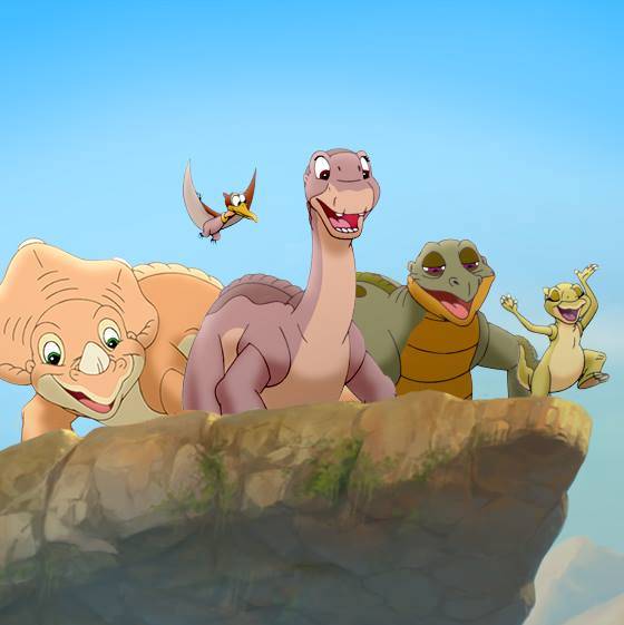 The Land Before Time Courtesy of UniversalPictures