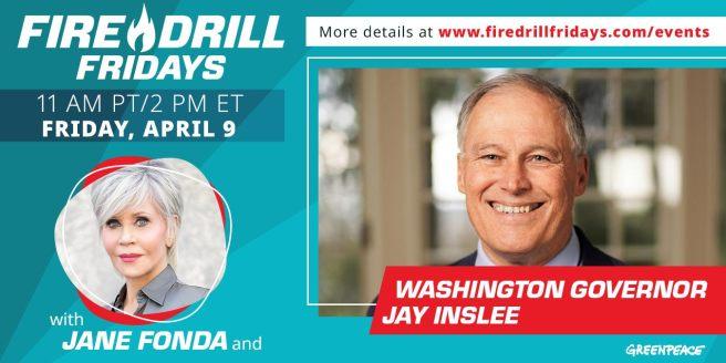 Greenpeace Jane Fonda Fire Drill Friday April 9 2021