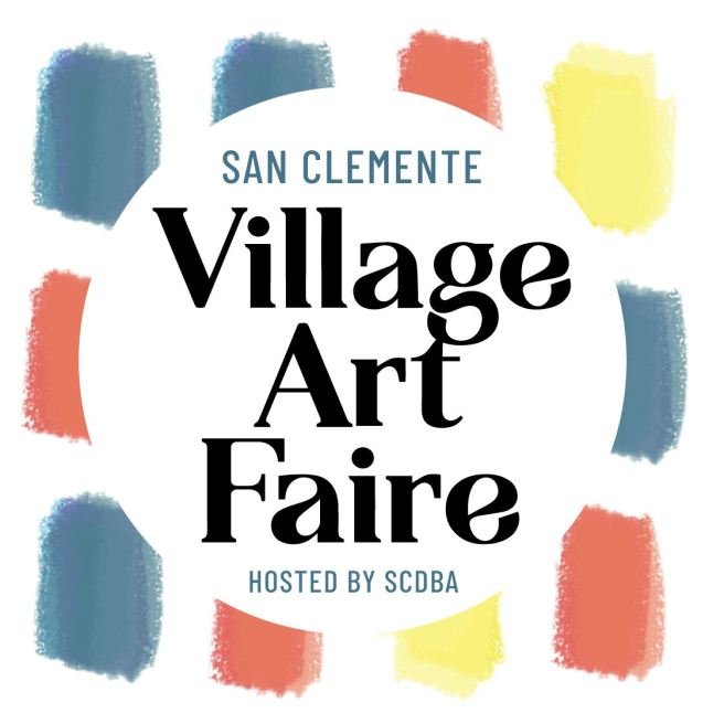San Clemente Village Art Faire Logo