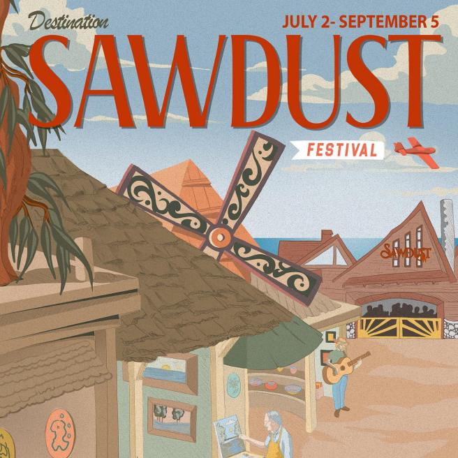 Laguna Beach Sawdust Art Festival Summer 2021 Courtesy of Sawdust Art Festival Facebook Page