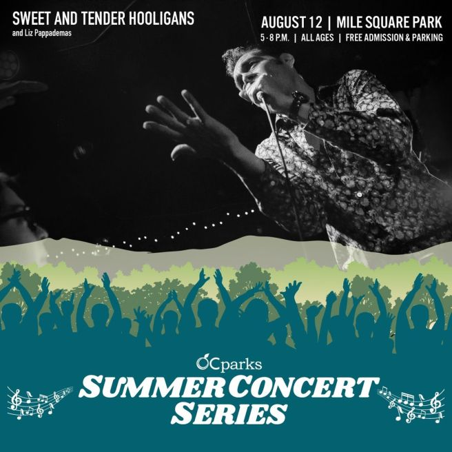 Orange County Parks Free Summer Concerts August 12 2021
