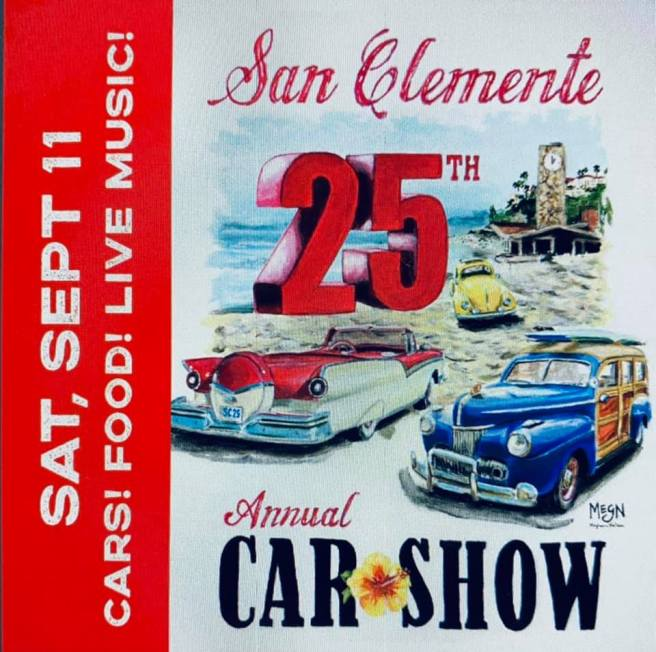 San Clemente Car Show Saturday September 11 2021