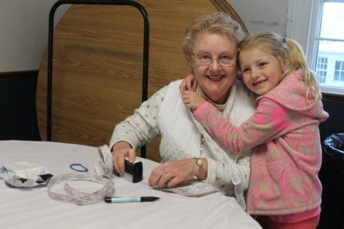 Vicky Slade of Cutchogue and her granddaughter Riley Whitecavage of Greenport.