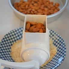 I use almond grinder
