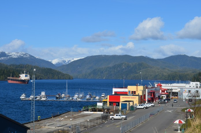 Prince Rupert is one of the most beautiful places on Gods Earth. When the sun shines. It was nice for a change to feel the warmth of the sun after the cold nd snow of recent weeks.