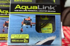 Not cheap but we each have one of these attached to our life jackets
