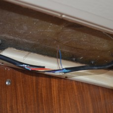 the Ais will be linked to the Chartplotter using these 2 nmea data wires