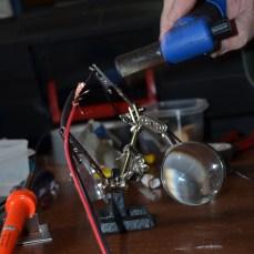 solder flows