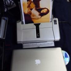 We just got a mini printer on board.