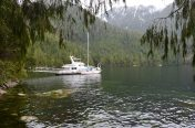 An Austrailian Boat heading for Alaskan before crossing the Pacific to go home!