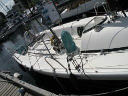 Ah this boat is for sale. Looks fast, but a bit cramped for the south pacific.