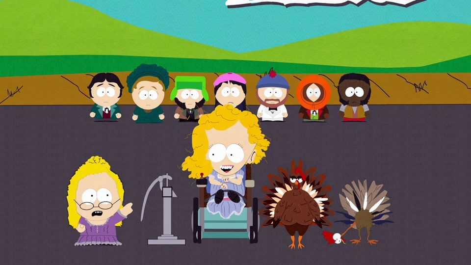 Helen Keller, the Musical! A South Park Thanksgiving Day Special