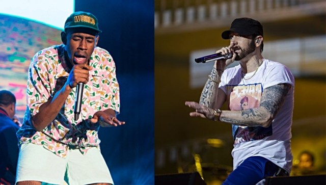 Tyler The Creator names Eminem's MMLP as one of his favorite albums of all time