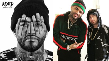 "Joyner Lucas on new song with Eminem: ""Nobody has heard him"