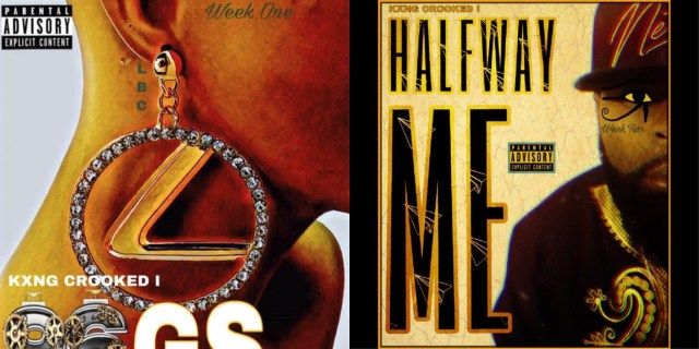 """Kxng Crooked drops two new songs: """"96 GS"""" and """"Halfway Me"""""""